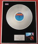TOYAH - The Blue Meaning PLATINUM LP presentation Disc